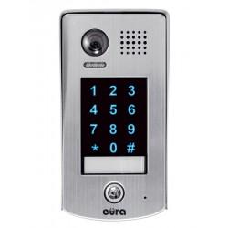 VDA-73A5 V.2 EURA Kaseta zewnętrzna wideodomofonu natynkowa dotykowy szyfrator