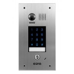 VDA-74A5 V.2 EURA Kaseta zewnętrzna wideodomofonu podtynkowa dotykowy szyfrator