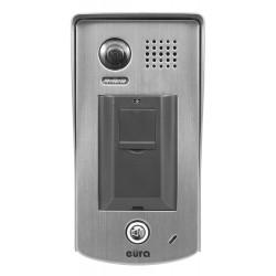 VDA-82A5 EURA Kaseta zewnętrzna wideodomofonu natynkowa z czytnikiem linii papilarnych