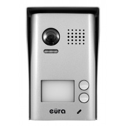 VDA-77A5 EURA Kaseta zewnętrzna wideodomofonu natynkowa 2-lokatorska
