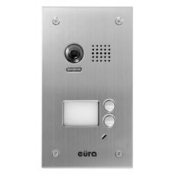 VDA-78A5 EURA Kaseta zewnętrzna wideodomofonu podtynkowa 2-lokatorska