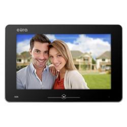 VDA-10A5 EURA Monitor wideodomofonu 10 cali dotykowy z pamięcią czarny