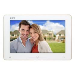 VDA-11A5 EURA Monitor wideodomofonu 10 cali dotykowy z pamięcią biały