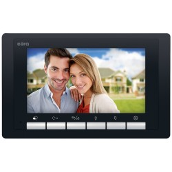 VDA-49A5 EURA Monitor wideodomofonu 7 cali czarny