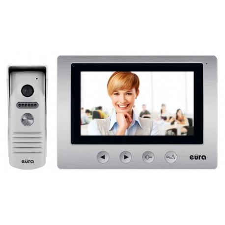 VDP-31A3 EURA ORION PLUS Zestaw wideodomofonu 7 cali pamięć wewnętrzna