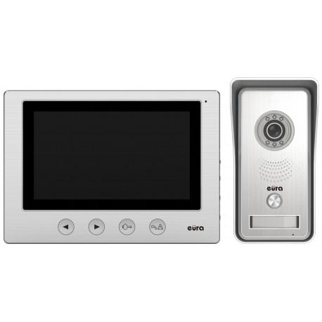 VDP-33A3 EURA LUNA Zestaw wideodomofonu 7 cali czytnik kart