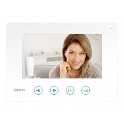VDA-06A3 EURA TYTAN JUPITER  Monitor wideodomofonu 7 cali BIAŁY