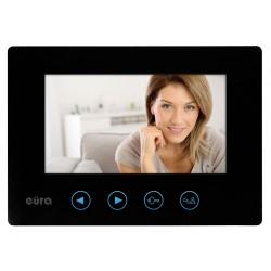 VDA-06A3 EURA TYTAN JUPITER  Monitor wideodomofonu 7 cali CZARNY