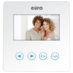 VDA-16A3 EURA SYRIUSZ Monitor wideodomofonu 4.3 cala BIAŁY