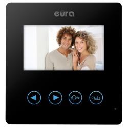 VDA-16A3 EURA SYRIUSZ Monitor wideodomofonu 4.3 cala CZARNY