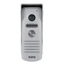 VDA-13A3 EURA CONNECT  Kaseta wideodomofonu jednorodzinna, szara, światło podczerwone