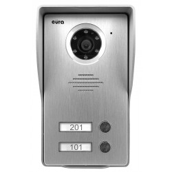 VDA-23A3 EURA CONNECT Kaseta zewnętrzna wideodomofonu dwurodzinna