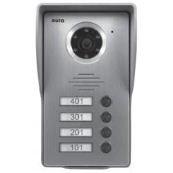 VDA-35A3 EURA CONNECT Kaseta zewnętrzna wideodomofonu  4-ro rodzinna