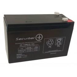 12-7 SECURBAT Akumulator 12V 7AH