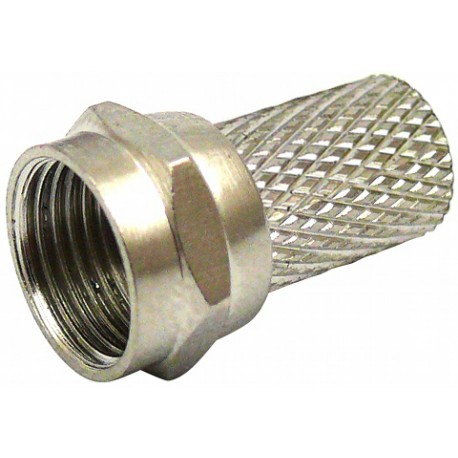 Wtyk F 6,8mm na przewód koncentryczny