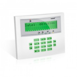 INT-KLCDL-GR SATEL INTEGRA Manipulator/klawiatura LCD do obsługi systemu
