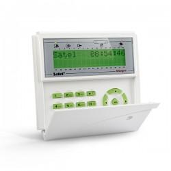 INT-KLCDR-GR SATEL INTEGRA Manipulator/klawiatura LCD z czytnikiem kart zbliżeniowych