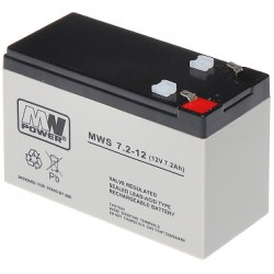 AKUMULATOR MW POWER MWS 7,2AH 12V