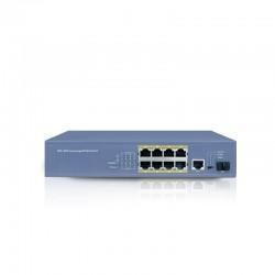 LS5110PGF SWITCH 8 portów POE + 1 port Gigabit + 1 SFP