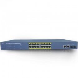 LS5118P Switch 16 portów POE + 2 porty uplink