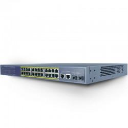 LS5126P Switch 24 porty POE + 2 porty uplink